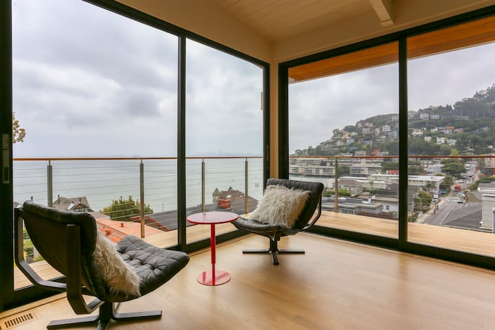 Stunning modern home, killer SF view - Sausalito - Dům