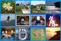 Carte postale refuge Acadien