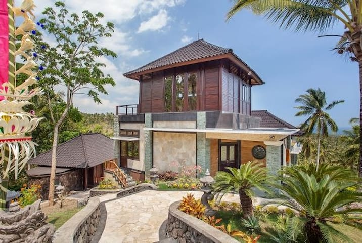 Luxury Balian ocean view villa - Selemadeg - Dom