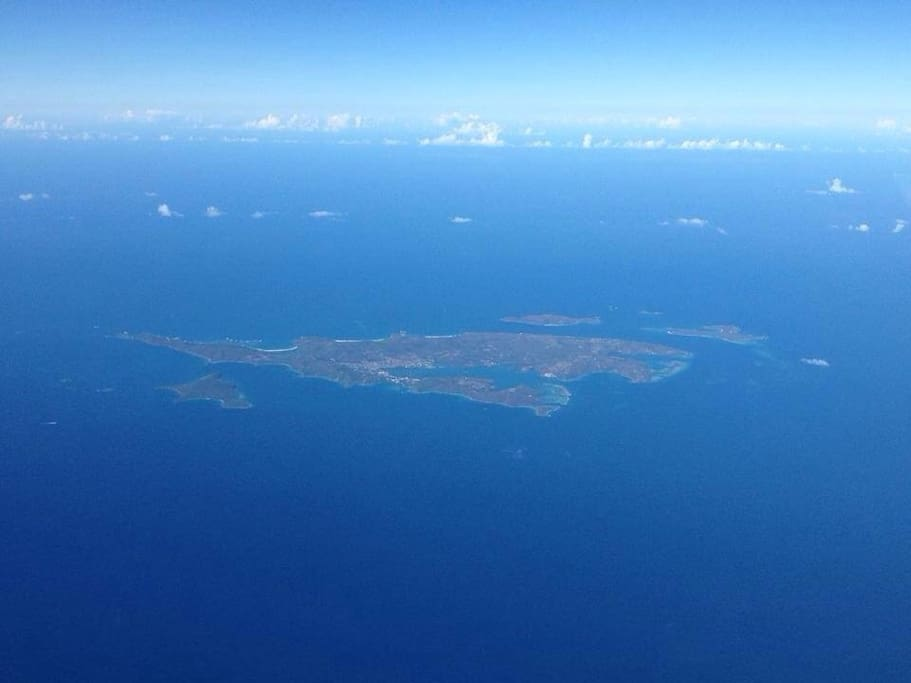 Culebra Island, Puerto Rico and all it's cays.