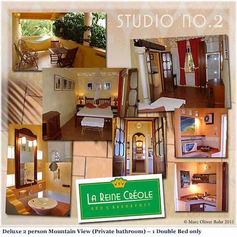 Studio 2 suitable for 2 persons