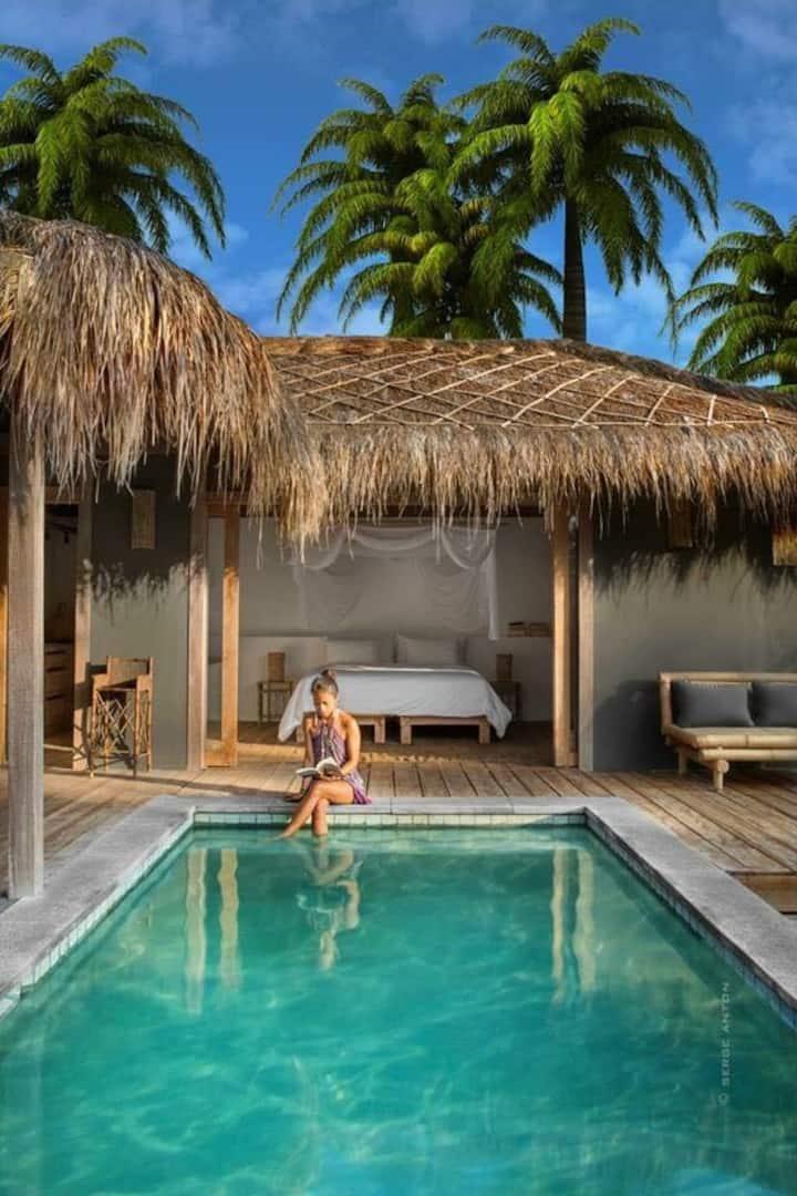 Slow Single Private Pool Villa no.9