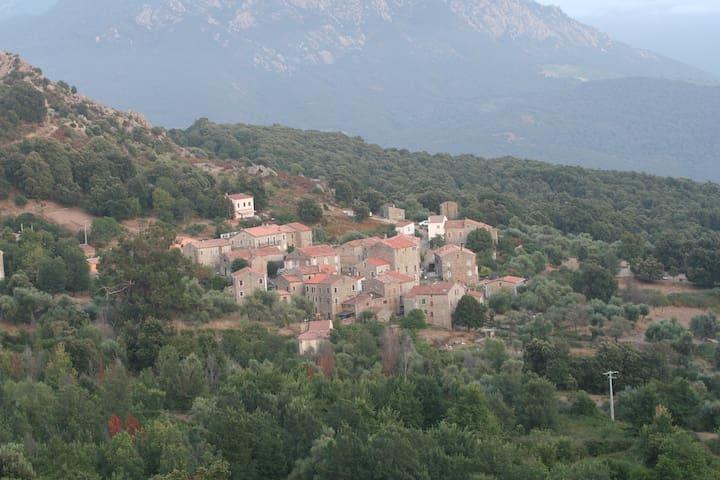 Maison de village familliale