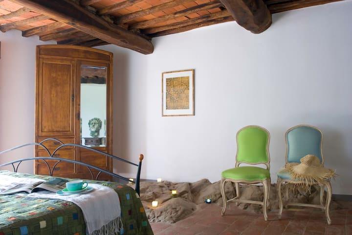Podere Villole Toscana Chianti Apartment Arezzo - Moncioni - 公寓