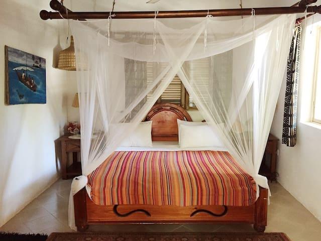 Utupoa, Ngalawa bedroom  - Zanzibar - Ev