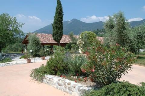 Agritur Renzano garden apartment 2 Pax -