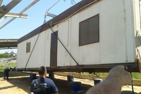 neomys house - Beit Yitshak Sha'ar Hefer - Wohnwagen/Wohnmobil