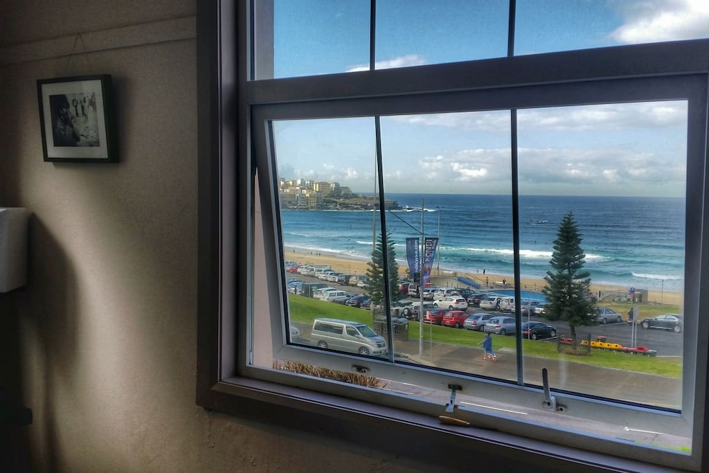 Breathtaking Bondi view from living room