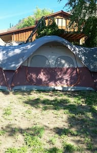 Orchard Guest tent  MAY - SEPT ONLY - Keremeos - Tent