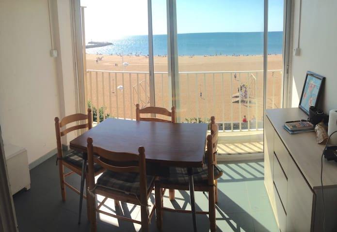 Charmant 2 pièces avec vue mer - Valras-Plage - Appartement