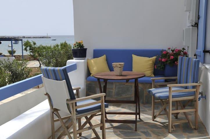 Harmony Apartments on the beach 1! - Aliki - Flat