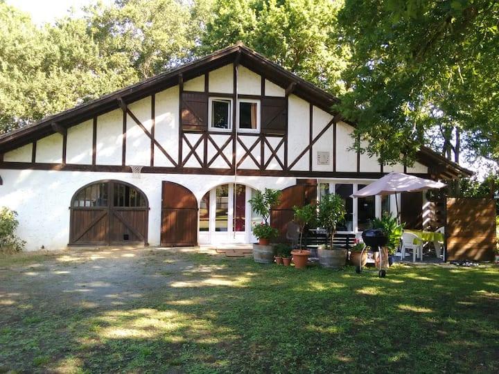 Maison landaise sur propriété d 2ha