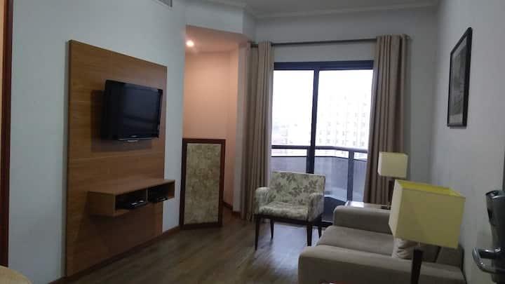 Apartamento montado, colado ao CENTER 3, Paulista!