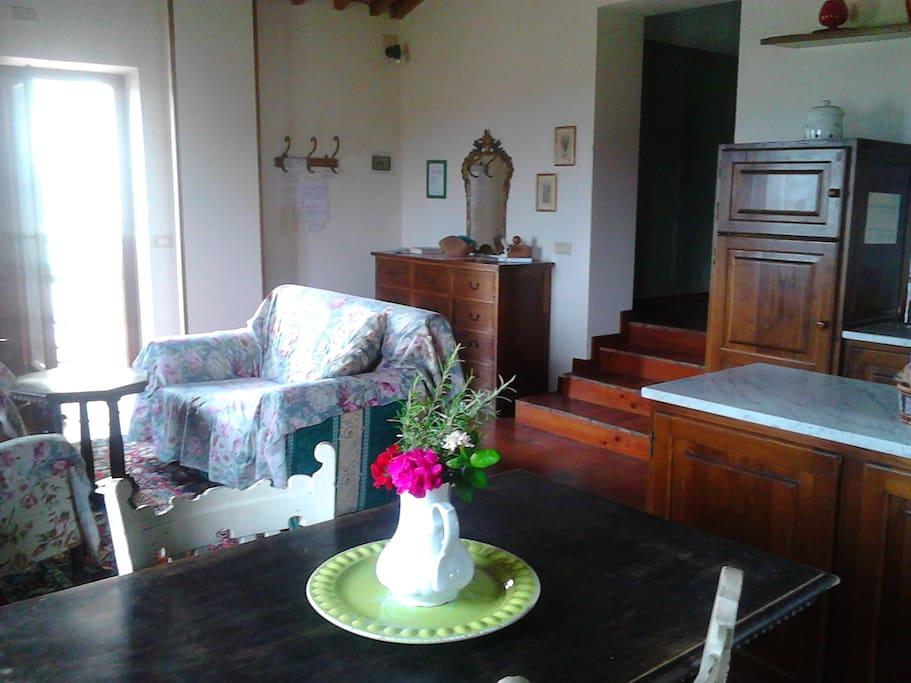 il soggiorno - sitting room