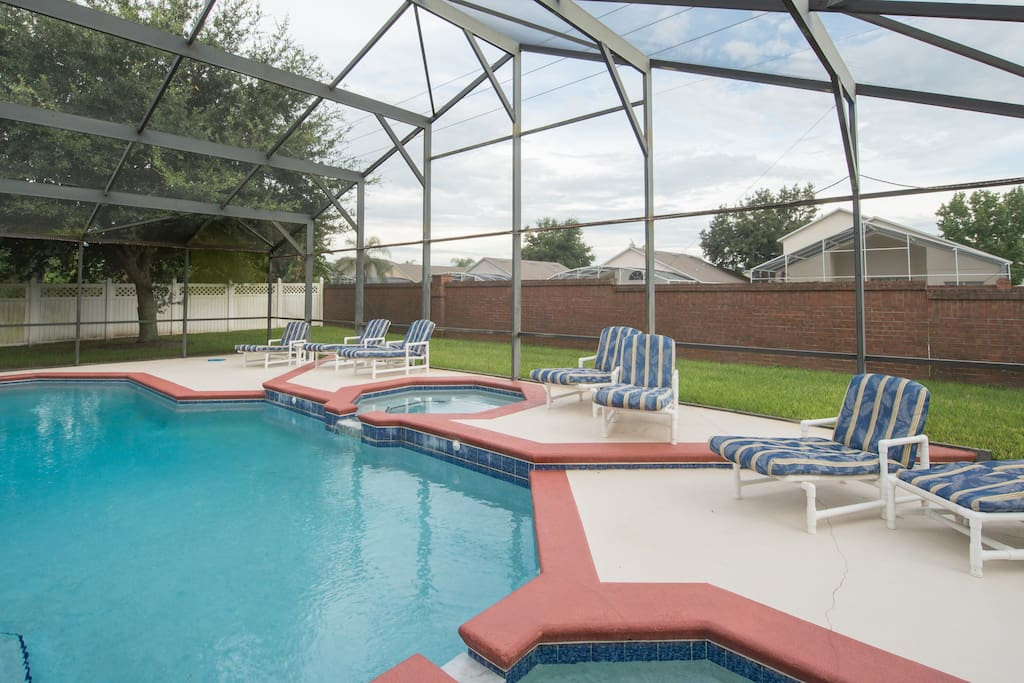 Pearl Of The Sea 6 Bedrooms 4 Bath Vacation Homes For Rent In Kissimmee Florida United States