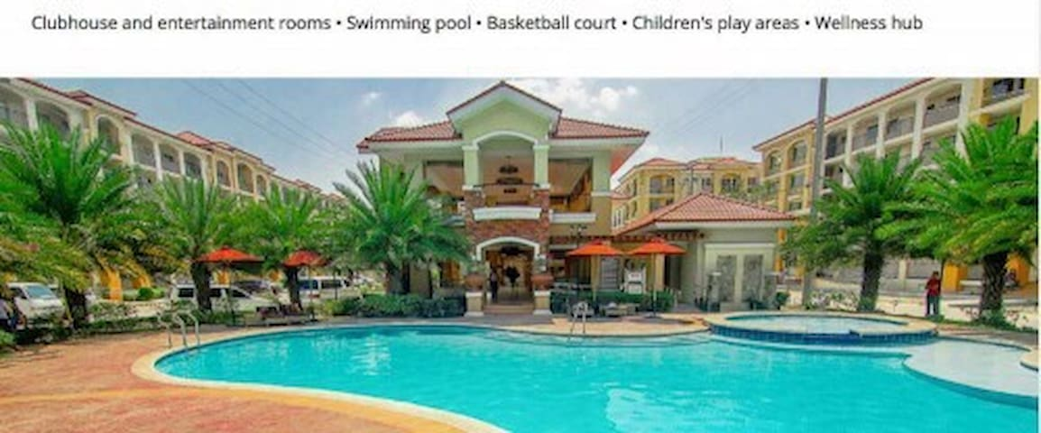 2 BR Resort type Condo in Pasig