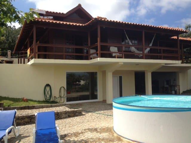 Casa de Madeira - Palmaz - Oliveira de Azeméis - Dağ Evi