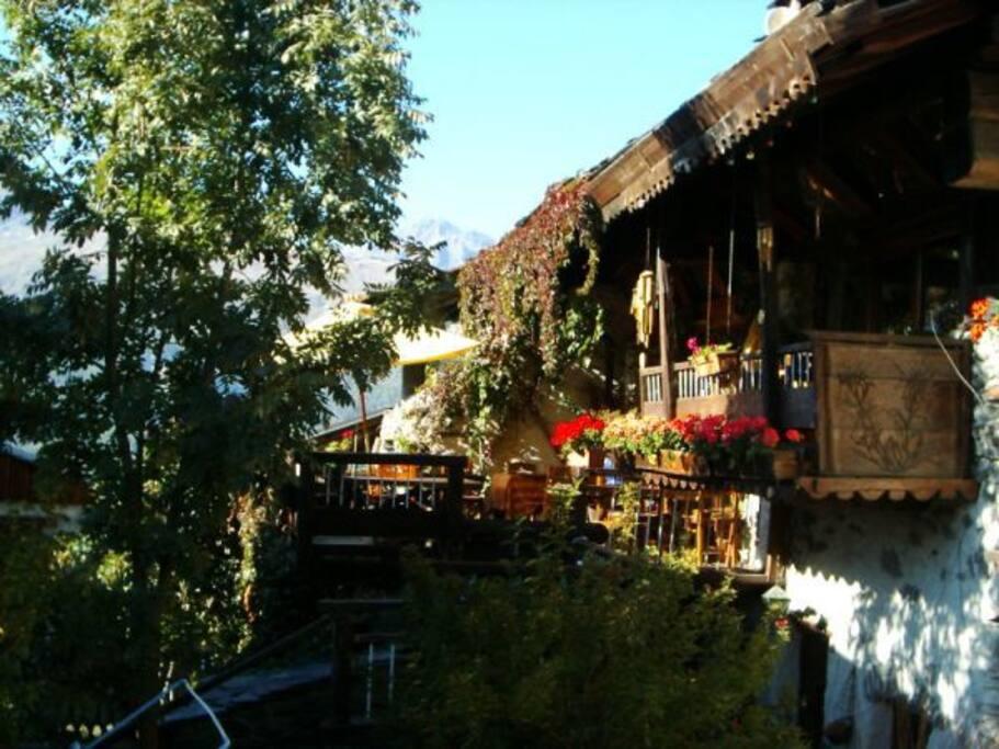 Chambre 2 au chalet du bois de lune maisons louer - Bourg saint maurice office du tourisme ...