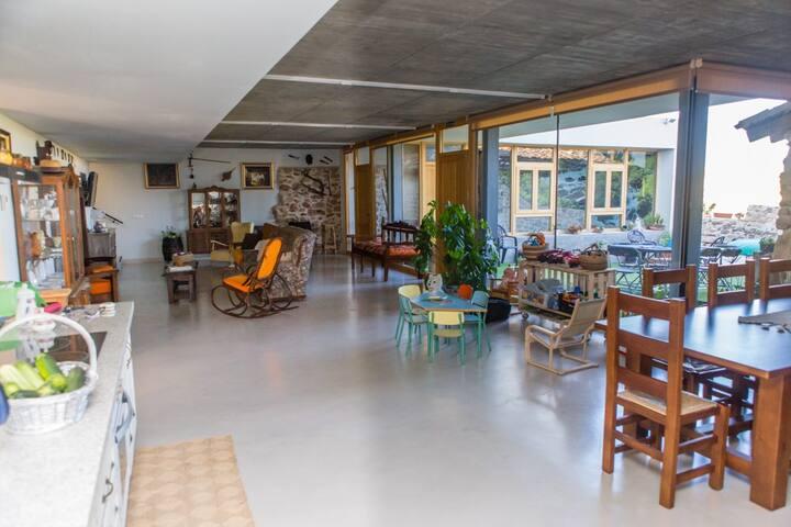 Casa rural con piscina climatizada - Chumillas - Huis