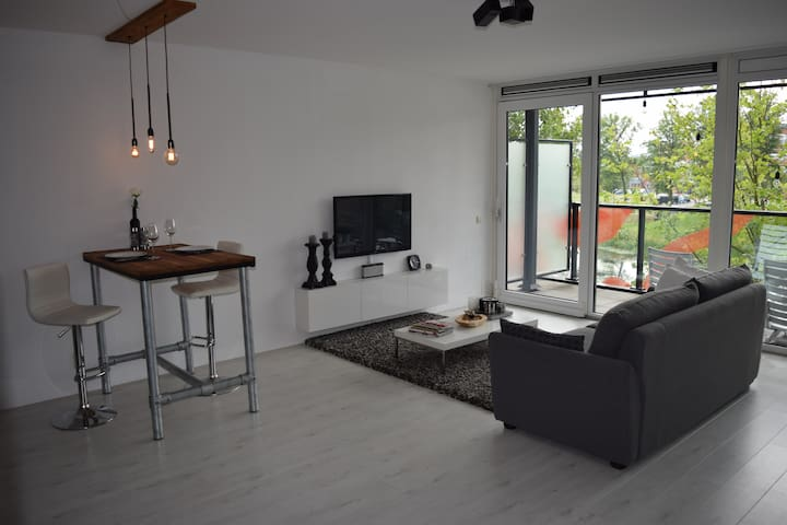 Amazing view Loft near Amsterdam - Lelystad - Apartment
