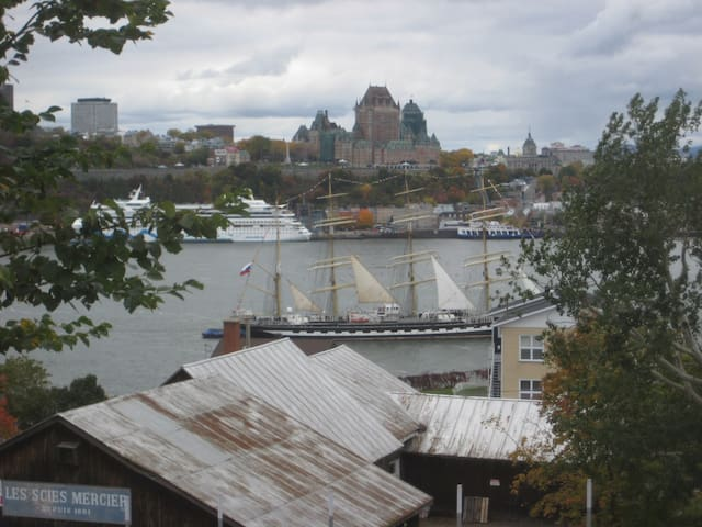 Breathtaking View on Québec City - from Lévis