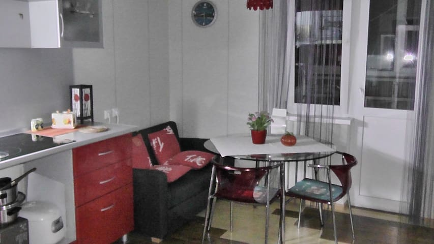 Cozy flat,15 minutes to beach - Noworossijsk - Wohnung