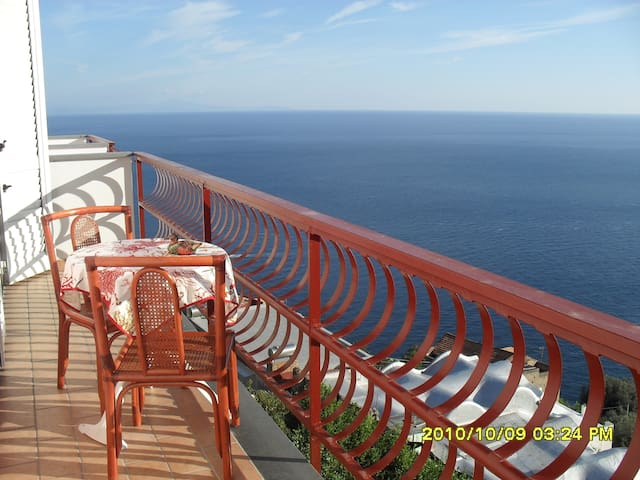 A terrace on the sea of AMALFI