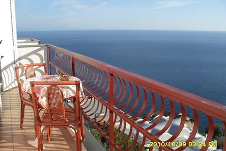 A terrace on the sea of AMALFI