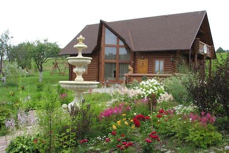 Уютный гостевой дом на природе - Svente - Huis