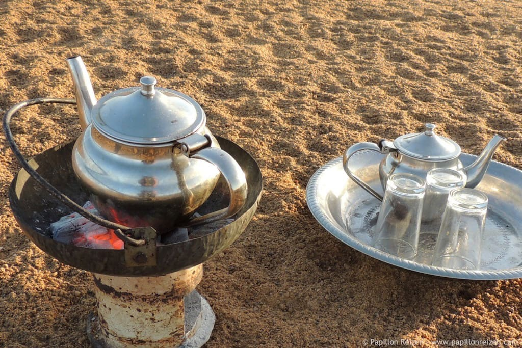 A Malian glass of tea adds to your local experience