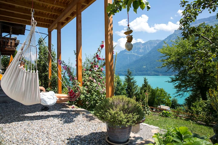 "Chalet-Seegrün ""wonderful/peaceful lakeview"" - Ringgenberg - Appartement"