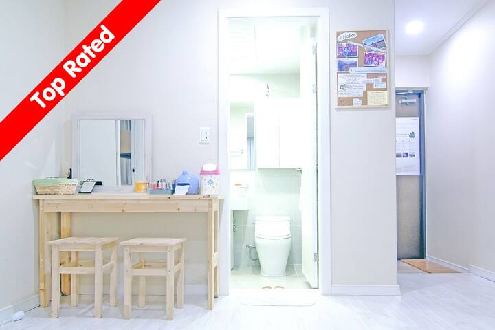 [Gangnam] 6 Bed Mixed Dorm- The JA - Seocho-gu - Bed & Breakfast