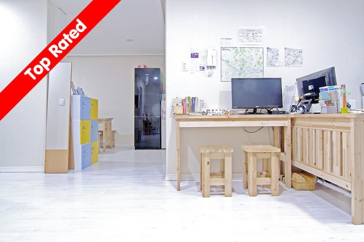 [Gangnam] 4 Bed Female Dorm- The JA - Seocho-gu - Bed & Breakfast