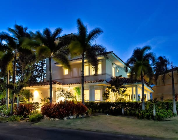 High End Beachfront House