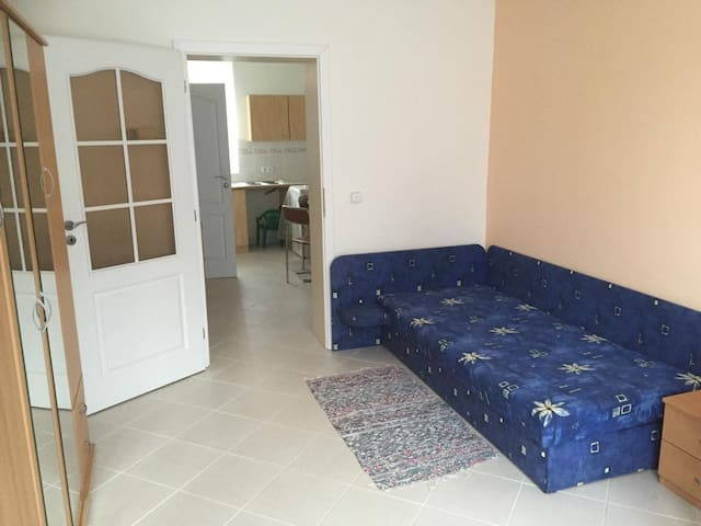 Private room with bed and 3 matters - Podolí u Brna - Apartamento