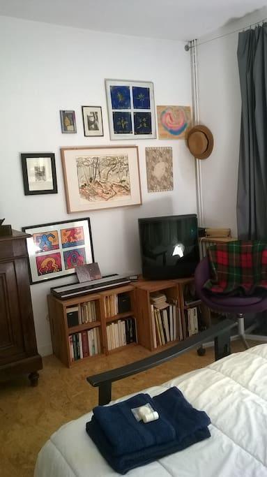 livres musique et tv