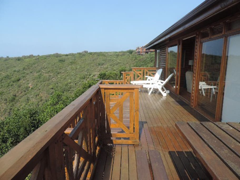 Deck of home
