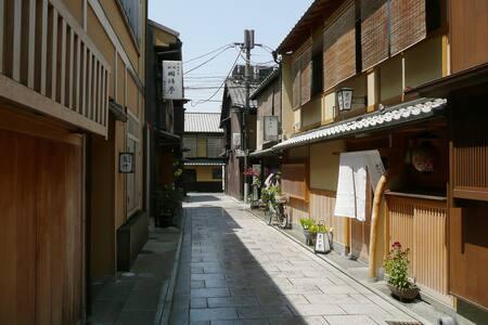 Kyoto tourist destination!Gion
