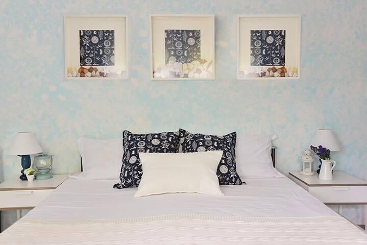 GLI OLEANDRI B&B: Stanza Azzurra - Capannori - Bed & Breakfast