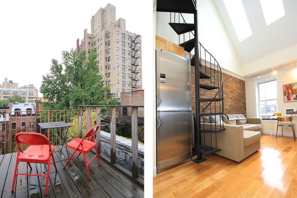 Chic NYC west Chelsea Pied-a-tere