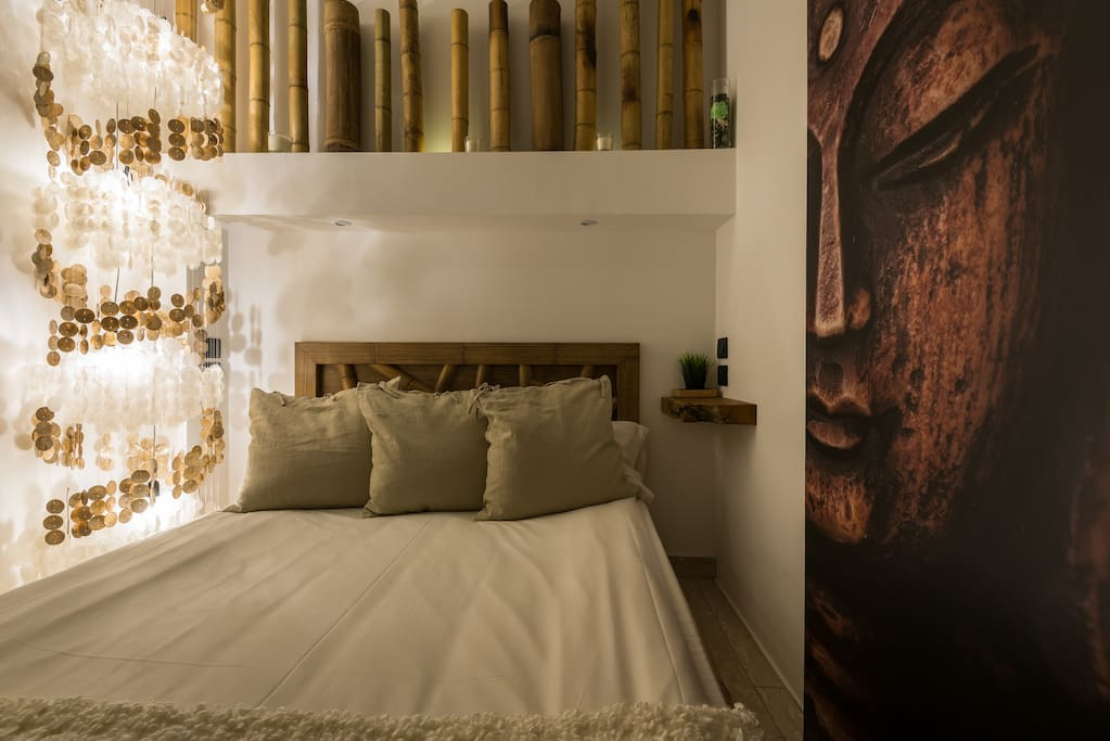 Bamboo private bedroom