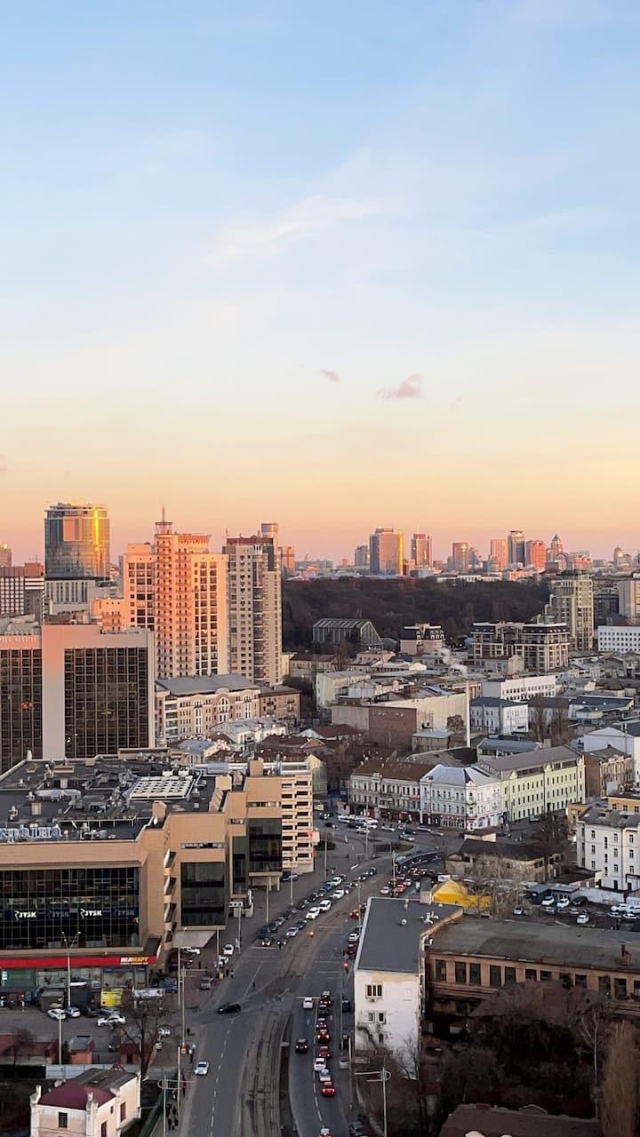 Top View Kyivs Apartment