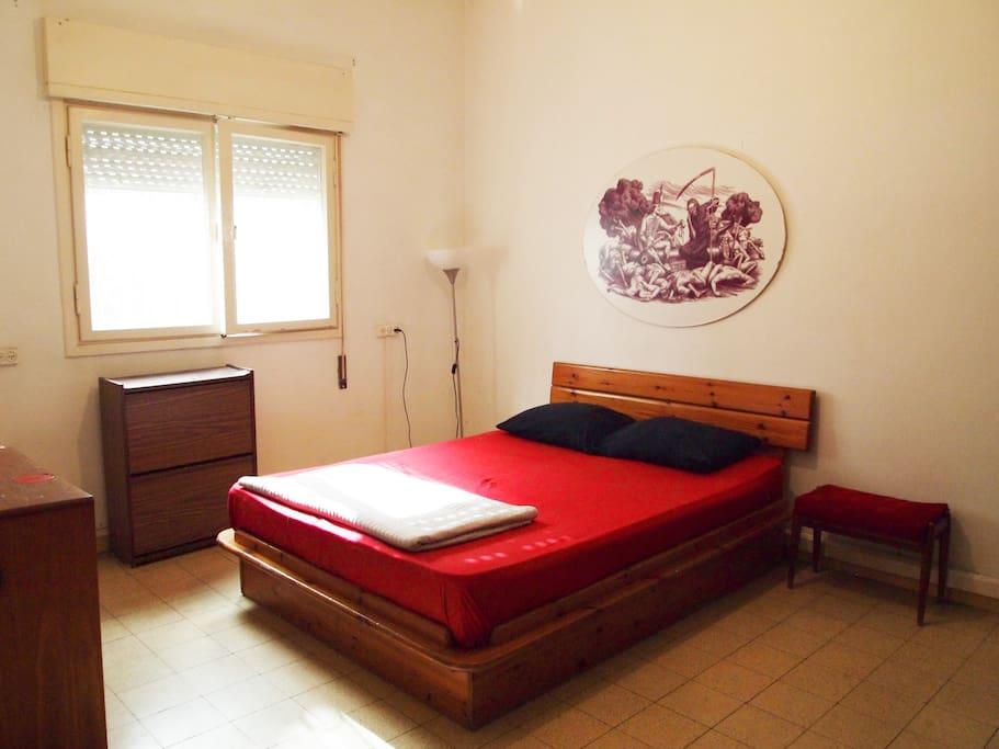Big and comfortable bedroom