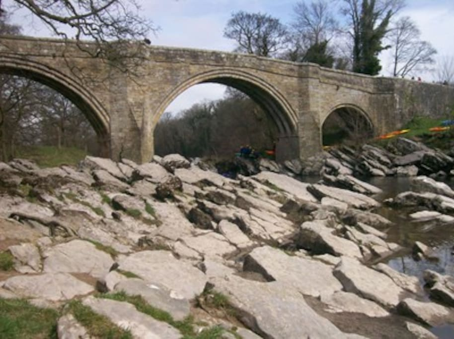 The Famous Devils Bridge - minutes from the cottage