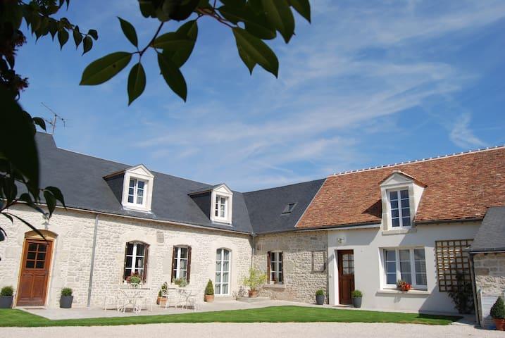 Gite 8 pers dans ferme rénovée - Neuville-aux-Bois