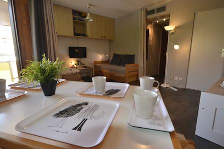 Beau studio confortable et au calme - Fontcouverte-la-Toussuire - Lejlighed