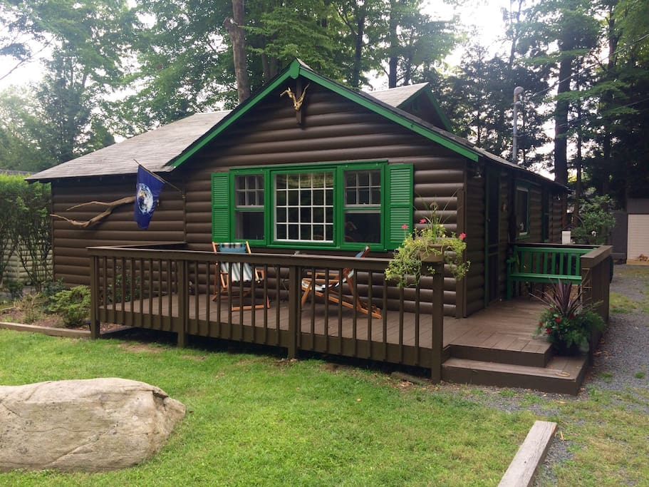 Vintage Catskills Cabin Chalet In Affitto A Smallwood