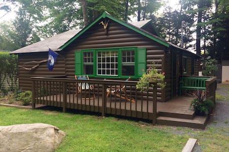 Vintage Catskills Cabin - Smallwood - 小屋