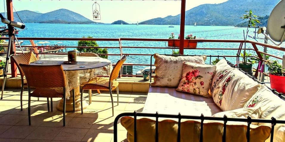 Penthouse in Villa Bozburun - Bozburun - Apartament