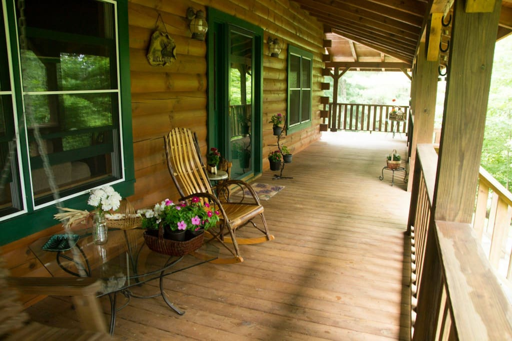 Enjoy Relaxing on the Large Wrap Around Covered Porch